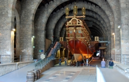 The Maritime Museum of Barcelona approaches the end of its 30-year restoration period